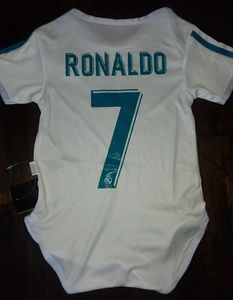 3226258a6 Generic One Pieces | Real Madrid Baby Suit Ronald 7 Size 12 Months ...